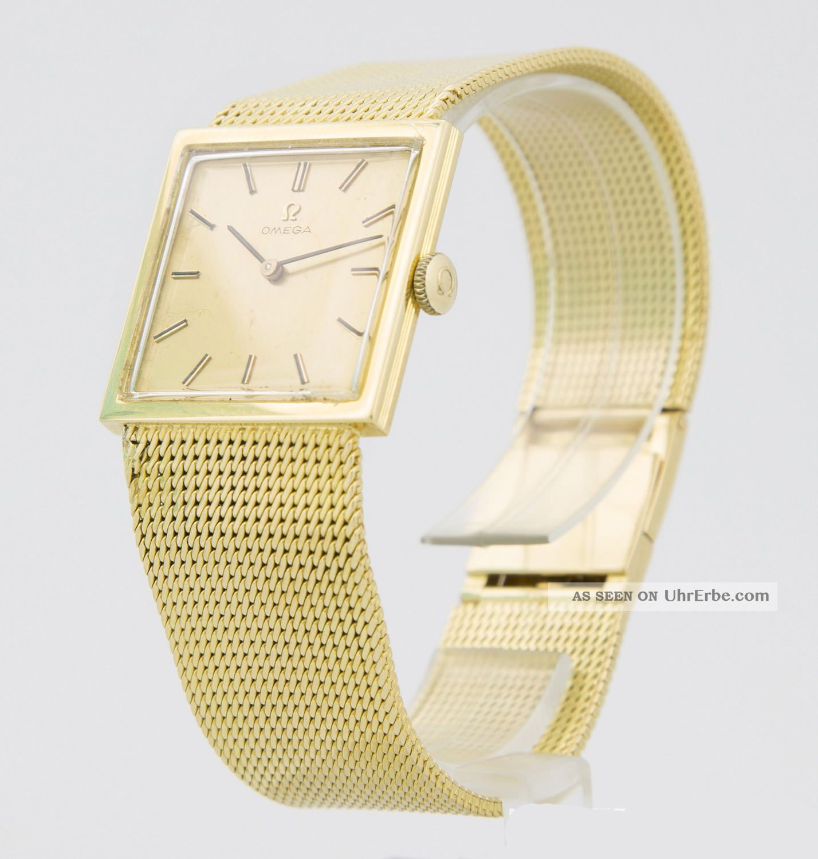 Omega Gold Uhr Herren