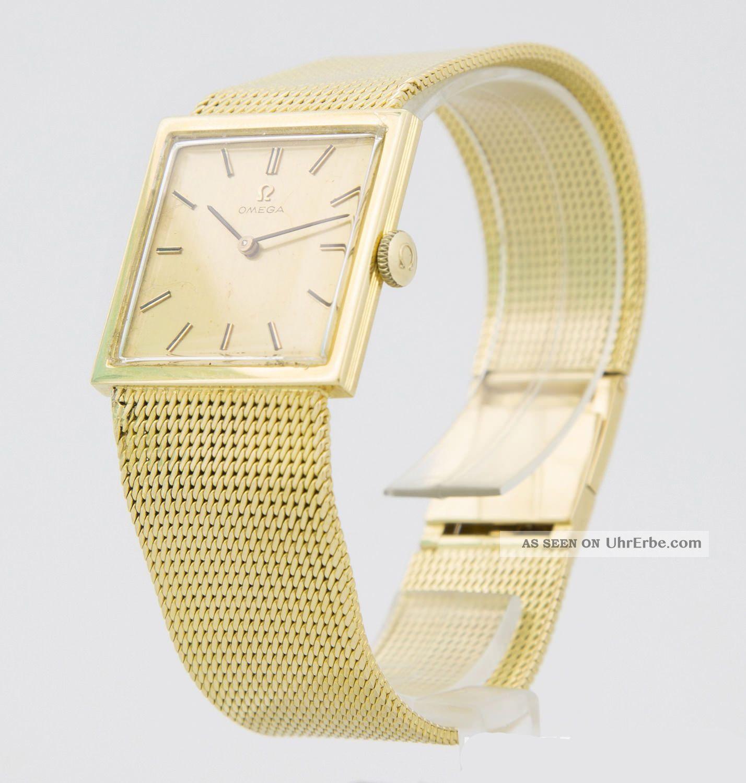 Omega Handaufzug Gold