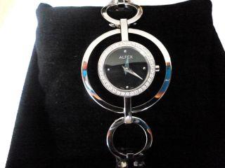 Alfex Uhr Damenuhr Mit Diamanten 5542/152 Bild