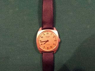Anker Ti 2000 Rarität Handaufzug Uhr Funktionstüchtige Alte Herren Armbanduhr Bild
