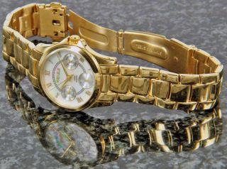 Kienzle Damen Uhr Quartz Vergoldet Mit Metall Armband Datum V71092337610 Bild