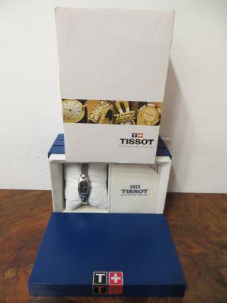 Tissot - Armbanduhr - Damen - Quartz - G 345 - Silberfarben - Box,  Papiere - Art.  1338 Bild