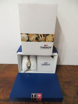 Tissot - Armbanduhr - Damen - Quartz - G 345 - Goldfarben - Box,  Papiere - Art.  1339 Bild