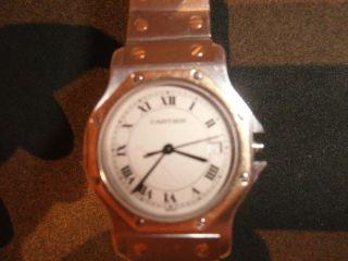 Cartier Santo Damen Uhr Bild