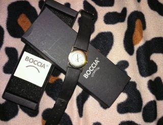 Ansehen Boccia Damenuhr Armbanduhr Titanium Bild