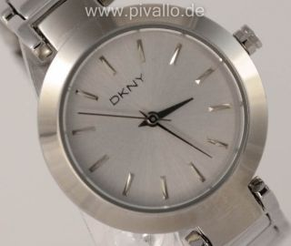 Dkny Donna Karan Ny Damenuhr / Damen Uhr Silber Dezent Ny8831 Bild