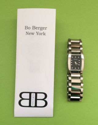 Bo Berger York Damen/ Herren Edelstahl Armbanduhr /lp.  355€ Bild