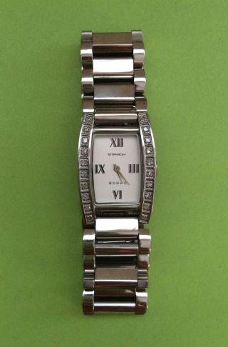 Starck Miami Damen/ Herren Edelstahl Armbanduhr / Diamantbesatz Lp.  997€ Bild