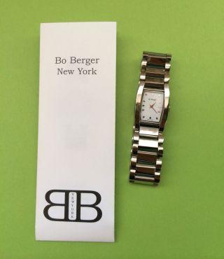 Bo Berger York Damen/ Herren Edelstahl Uhr /lp.  355€ Weihnachtsangebot Bild