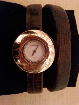 Pandora Damen Armbanduhr Icon Gold - Uvp €279 - Mit Pandora Geschenktüte Bild