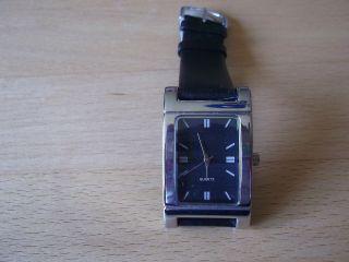 Damenuhr Herrenuhr Armbanduhr Men Watch Armband Black Silbern Rp - 14.  1 Bild