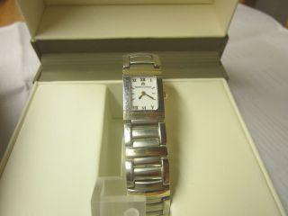 Maurice Lacroix Damen Uhr Miros Integral,  Gelbgold 750 Karat Mit Uhren Box Bild