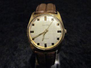 Zentra 2000 Uhr Uhren Handaufzug Vintage Hau Goldfarben Germany Bild