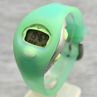 Armbanduhr Nike Ww0007 - Grün Chronograph Licht Timer Unisex Bild