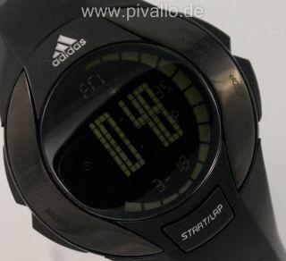 Adidas Herrenuhr / Damenuhr / Uhr Silikon Schwarz Digital Adp1774 Bild