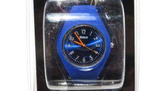 Armbanduhr Damenarmbanduhr Colour Watch Silikonuhr,  Blau - Bild