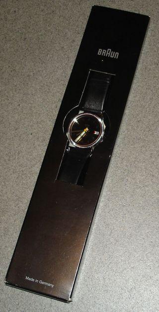 Braun Quarz Aw 21 Designer Armbanduhr Typ 3804 Design Dietrich Lubs Ovp Bild