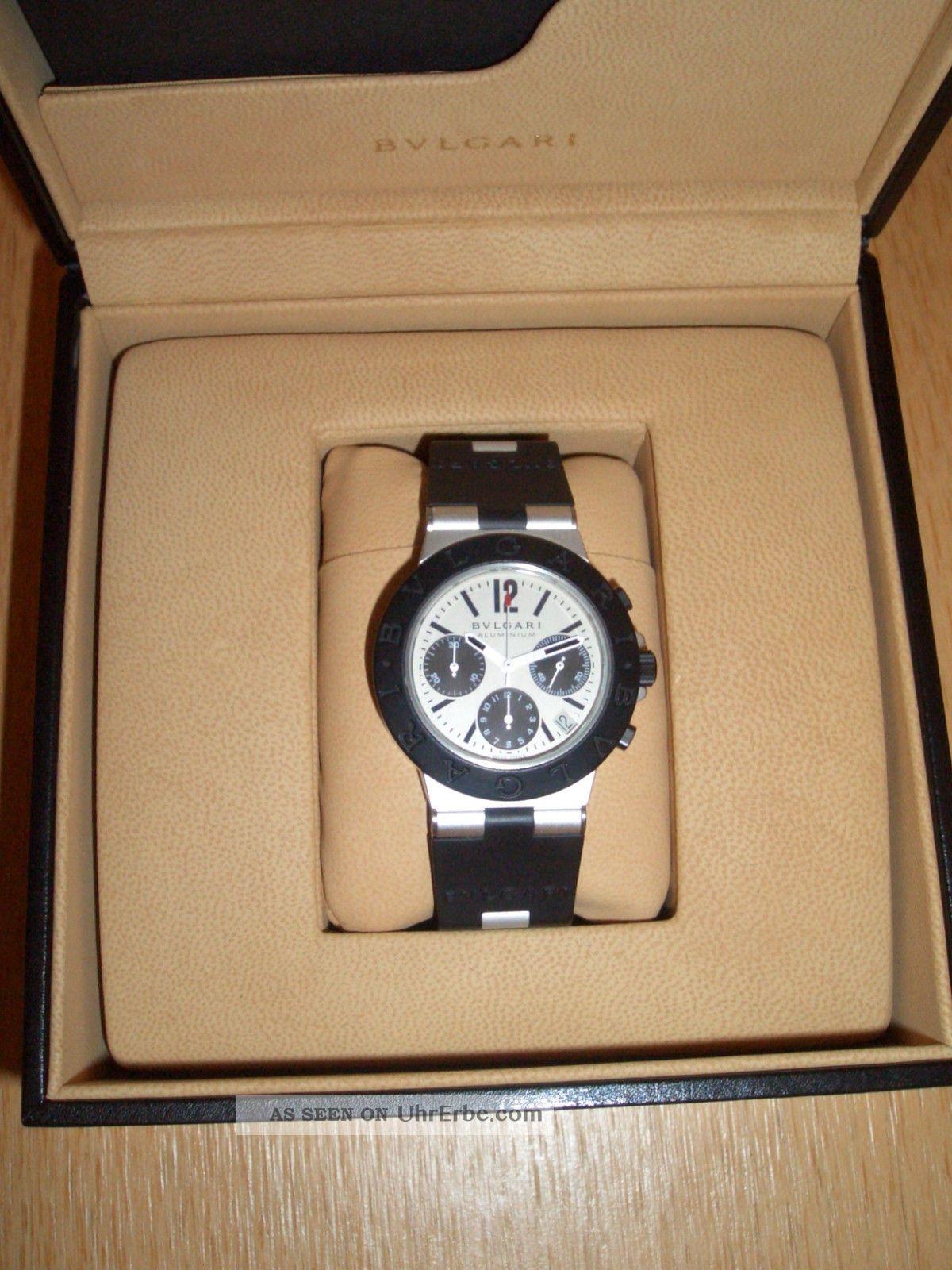 bulgari bvlgari armbanduhr chronograph uhr automatik top. Black Bedroom Furniture Sets. Home Design Ideas