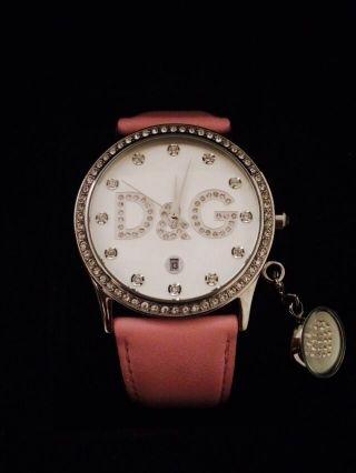 Dolce & Gabbana Gloria Rosa Strass Dw0009 Schmuckuhr D&g Bild