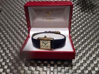 Cartier Tank Uhr Damen Bild