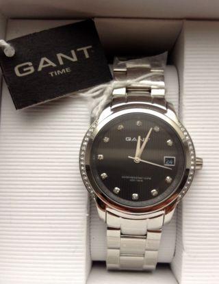 Gant Armbanduhr W10711 Uhr Edelstahl Rundgehäuse Wie Bild