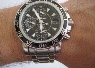Montblanc Meisterstück Sport Chronograph Xl Automatik 41 Mm Bild