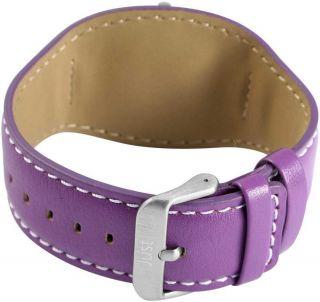 Just Uhr Damenuhr 48 - S3851 - Pr Lila Unterlegearmband Lederarmband Bild