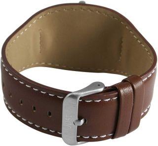 Just Uhr Damenuhr 48 - S3851 - Br Braun Unterlegearmband Lederarmband Bild