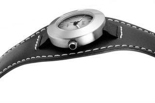 Just Uhr Damenuhr 48 - S3851 - Bk Schwarz Unterlegearmband Lederarmband Bild