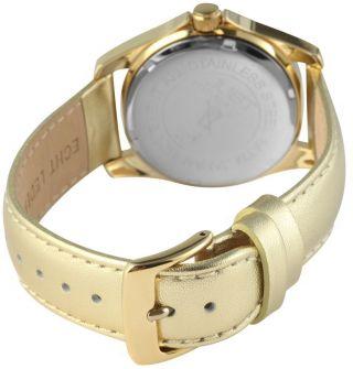 Just Damen Uhr Leder Chronograph 48 - S8196 - Gd Armbanduhr Golden Bild