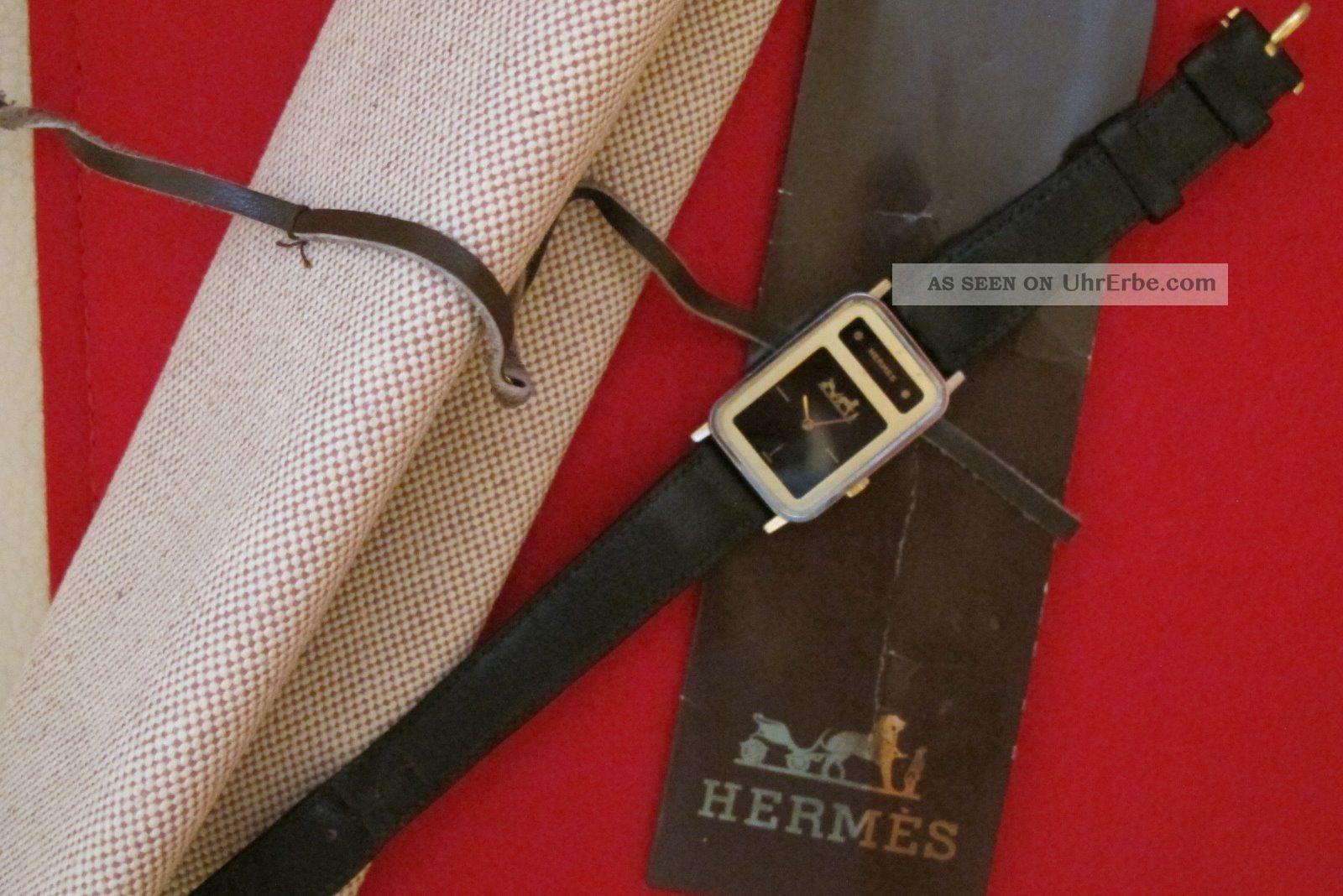 Armbanduhr Hermès Paris Dau Hau Hermes Jaeger - Lecoultre Jaeger Le Coultre Armbanduhren Bild