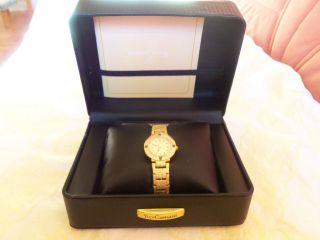 Yves Camani Lady Sapphire - Damenuhr 2 4 Karat Vergoldet Bild