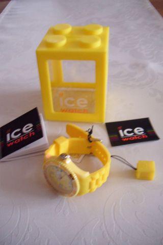 Ice Watch Sili Yellow Unisex Armband Uhr Gelb Si.  Yw.  U.  S.  09 Bild