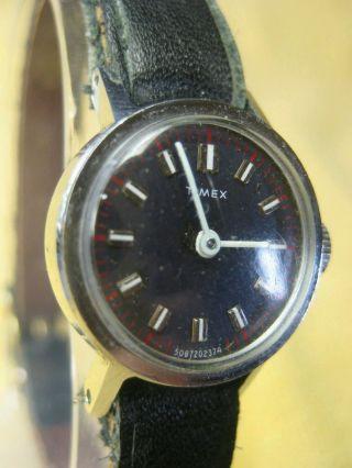 Timex Uhr - 60/70er Jahre - Selten - Läuft Top - Sauber - Vintage - Vtg Bild