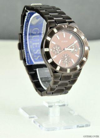 Uhr Guess Dark Bronze Edelstahl Shimmer Damen Neuf U13013l2 Deu Bild