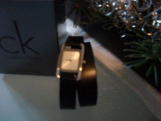 Calvin Klein,  Damen,  Uhr,  Wickelarmband,  Neuwertig,  Ovp Bild