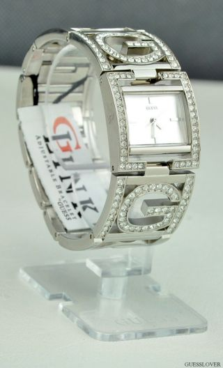 Uhr Guess Silber Edelstahl Luxury Damen Neuf U12539l1 Deu Bild