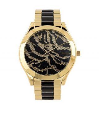 Orig.  Michael Kors Mk3315 Damen Uhr Glitz Gold Watch Mk Geschenk Bild
