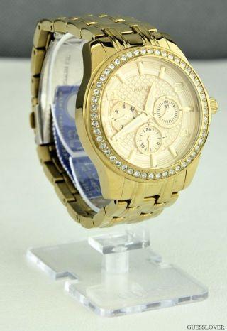 Uhr Guess Gold Edelstahl Damen Neuf U0147l2 Deu Bild