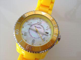 Leuchtende Thomas Sabo Uhr Wa0113 - 249 - 202 - 39 It Girl Damenuhr Gelb Uvp:189€ Bild