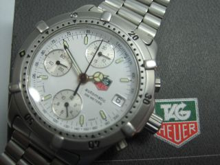 Tag Heuer Automatic Chronograph Caliber 7750 Ovp & Papiere Bild