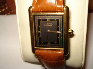 Cartier - Armbanduhr - 925 Silber - Quartz Bild