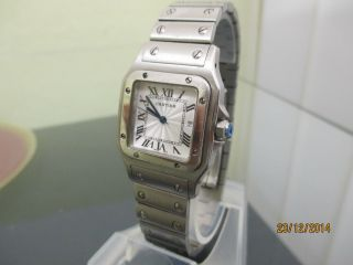 Cartier Santos Edelstahl Armband Uhr Unisex Bild