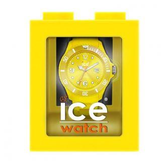 Ice Watch Ss.  Nyw.  U.  S.  12 - Ice Watch Uhr In Gelb Mit Spardose Neu&original Bild