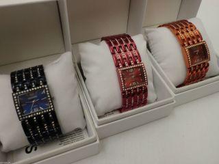 Modische Damenuhr Colours Armbanduhr Analog Quarz - Uhr & Ovp Bild