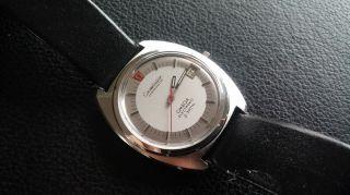 Omega Constellation Electronic F 300hz Stahl Chronometer 38mm - Bild