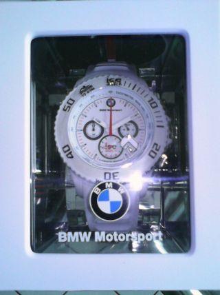 Ice Bmw Motorsport Chronograph Armbanduhr Und Ovp Bild