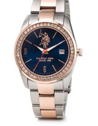 Armbanduhr Damenuhr U.  S.  Polo Assn.  Uhr Frauen Damen Edelstahl Class Geschenk Bild