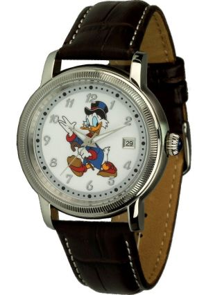 Disney Uhren Unisex Automatikuhr Mit Dagobert Motiv,  Ovp Bild