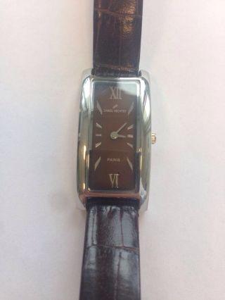 Armbanduhr Von Daniel Hechter In Braun Bild